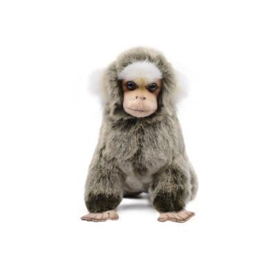 7474 흰귀마모셋 원숭이인형 19cm.L