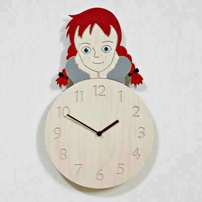 (ktk092)빨간머리 앤 저소음 벽시계