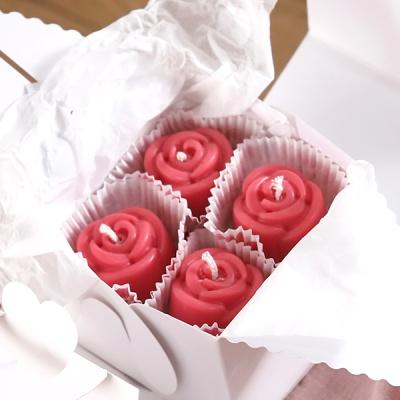 미니 장미 캔들 12P(레드-러블리)