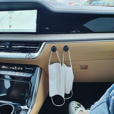 [4P] 자동차용 블랙 미니 후크