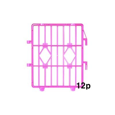 펫츠코 캐슬(울타리) 12p-핑크 강아지 반려견 펜스