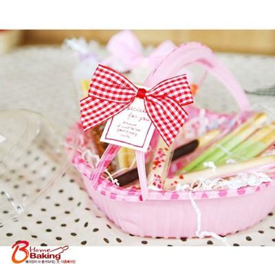 핑크하트 피크닉도시락(샐러드케이스)