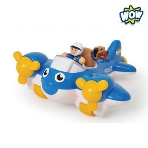 [WOW]와우토이즈 피터 경찰비행기/교육완구/작동완구/명품완구/영국브랜드/WOWTOYS