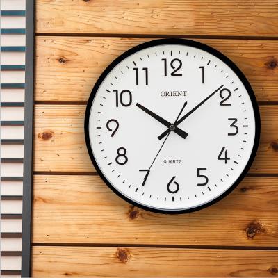 오리엔트 무소음 OT632 블랙 미니돔 인테리어벽시계