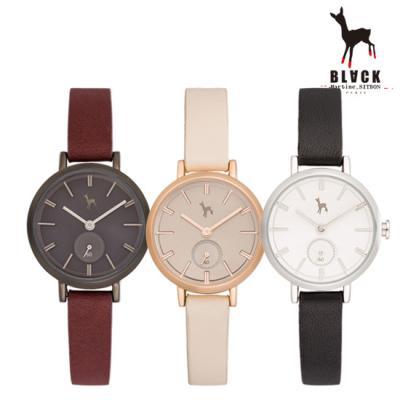 [블랙마틴싯봉] 여성 가죽 손목시계 BKL1663L