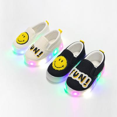 유아LED신발 와펜스마일