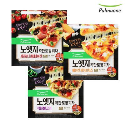 [풀무원] 노엣지 피자 7판 모음