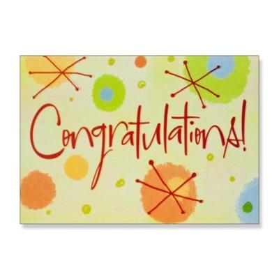 홀마크 축하 카드(캘리그라피)-M6223