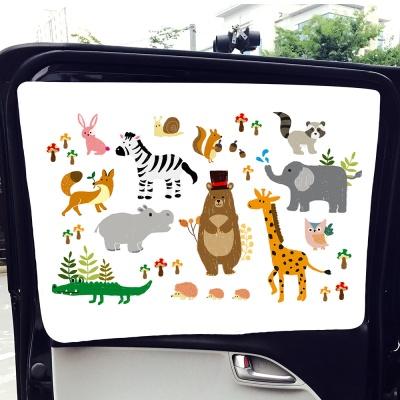 바니바니 차량용 자석 아기 햇빛가리개
