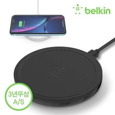 벨킨 10W 고속 무선 충전기 패드형 + 퀵차지 F7U082kr