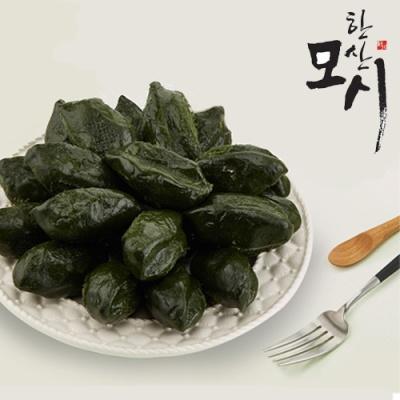 [한산모시락] 달고개 모시잎 찐 송편 1.2kg/25개