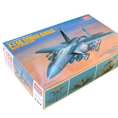 F-15E 스트라이크이글 무장형 1/48 프라모델 아카데미과학 전폭기 미공군 모형