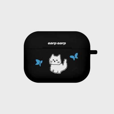 Awesome cat-black(Air pods pro case)