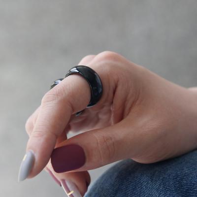 바이데이지 SR068 블랙 오닉스 원석 고마루 반지