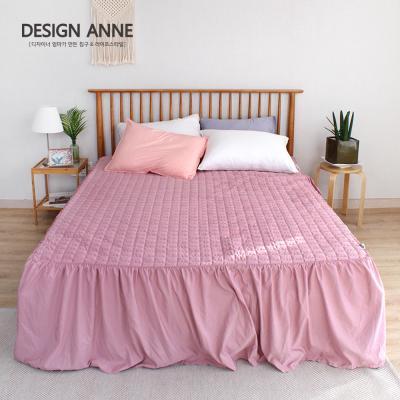 [디자인엔] 알러지케어 모던 침대스커트Q-핑크