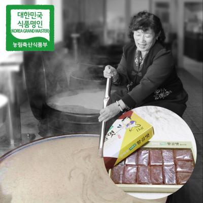 장바우 치악산 황골엿 갱조각엿 1kg/선물세트