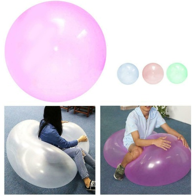대형 50CM 젤리 버블 볼 투명 풍선 공 물 놀이 장난감