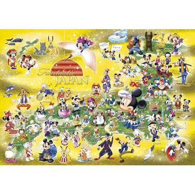 [텐요] 직소퍼즐 / 1000조각 / 디즈니 시리즈 - 환타지 재팬 / D-1000-386 / 일본직수입 / 무료배송