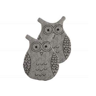 [House Doctor]Hot pads, OWL set of 2 pcs Cc0910 오븐장갑