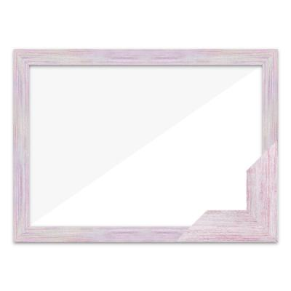 퍼즐액자 17.5x43.5 고급형 우드 핑크
