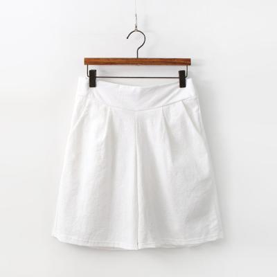 Linen Cotton Four Shorts