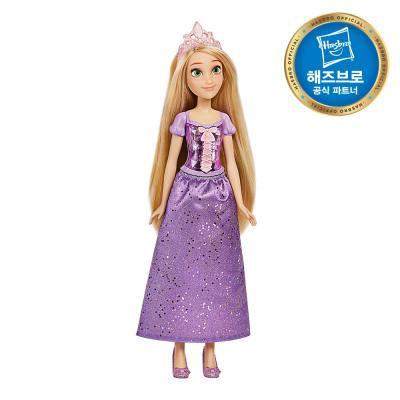 디즈니프린세스 패션돌 반짝이 드레스 라푼젤 인형