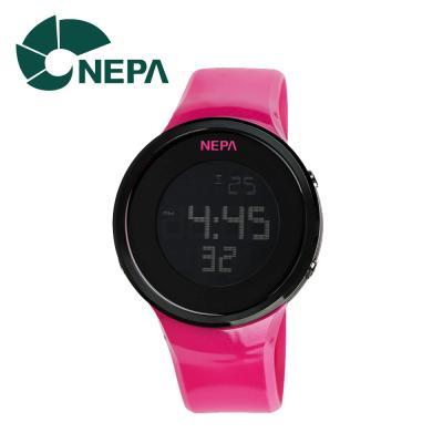 네파 아웃도어 디지털 시계 N232-PINK 핑크