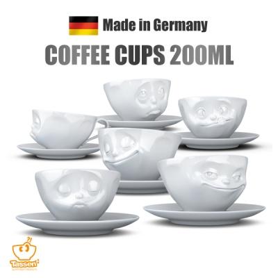 [ Tassen ] 독일 타쎈 커피잔 200ml 얼굴표정 커피컵