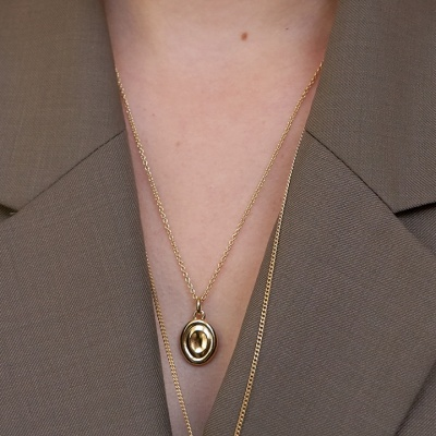bola necklace - M