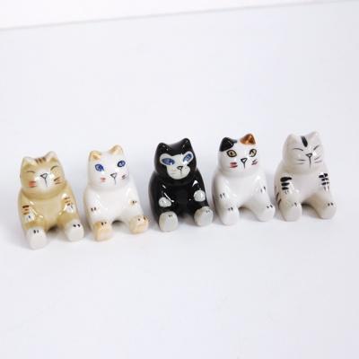 고양이 젓가락 받침 5세트