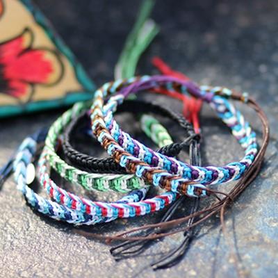 [릿지라인]감성캠핑 미산가 브레이슬릿 Misanga Bracelet