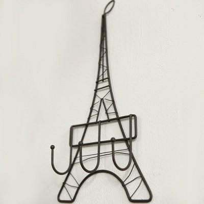 빈티지 에펠탑 훅 선반