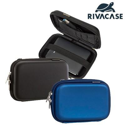 전자기기 & 2.5 외장하드 케이스 RIVACASE 9101 (손목 스트랩 / 액세서리 수납공간)