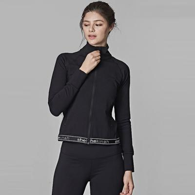 [SKN]SNJK9012 블랙 여성 헬스복 운동복 요가복 자켓