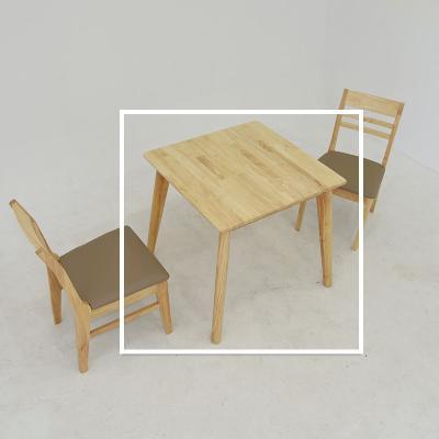 라과 원목 2인 식탁 테이블