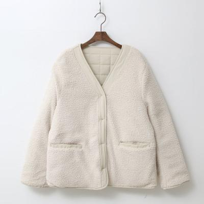 Square Quilting Jacket - 덤블안감,양면