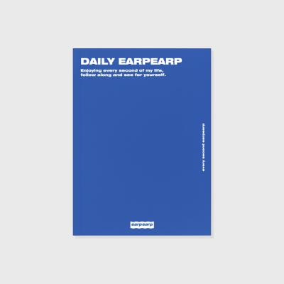 Daily earpearp-blue(다이어리)