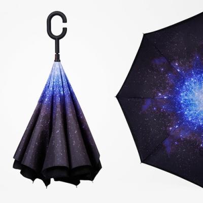 거꾸로 꺼꾸로 우산 반전 리버스 반대로접는우산