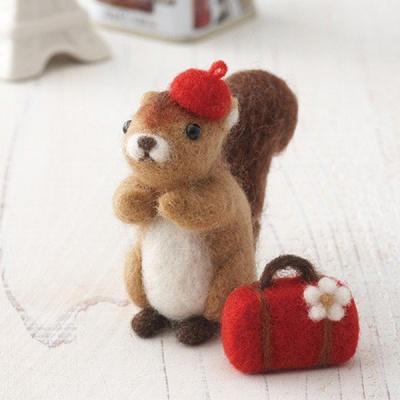 산펠트 양모 다람쥐 키트