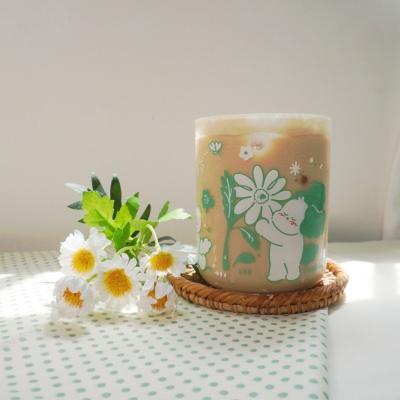 [뽐뽐스튜디오] 토끼풀 친구들 컵