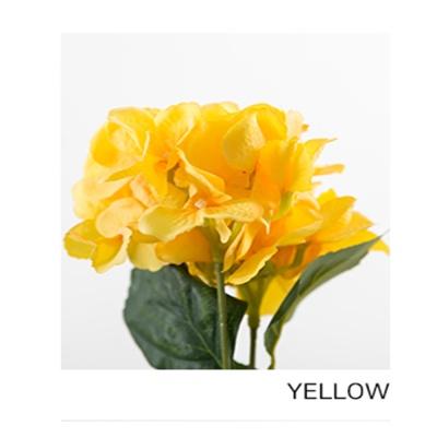 로맨틱 수국부쉬_44CM (9COLOR)-SP/YELLOW