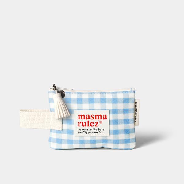 마약 스트랩 파우치 스프링 미니 _ Blue