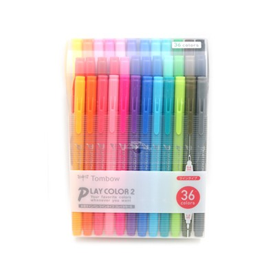 TOMBOW PlayColor2 36컬러 set
