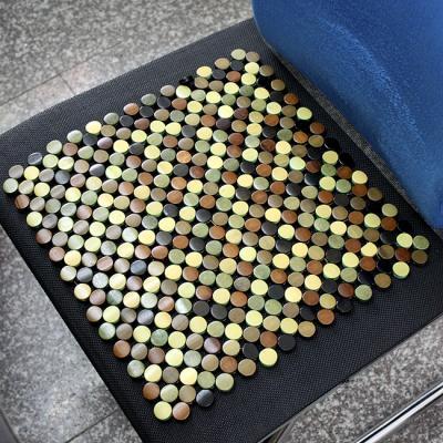 (와인앤쿡)실속형원형 대나무 마작 방석(36cm)