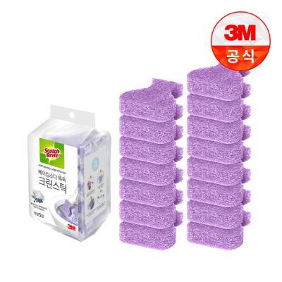 [3M]크린스틱 베이킹소다 변기청소 리필15입