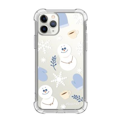 뮤즈캔 ADEEPER 아이폰 11 프로 겨울 패턴 케이스