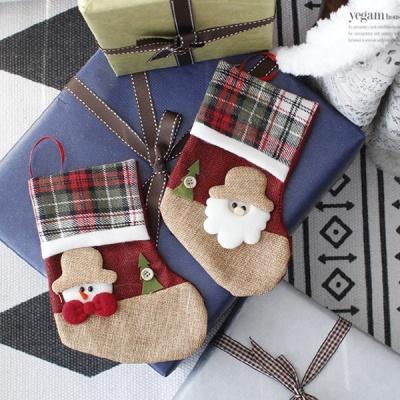 [2HOT] 산타눈사람 칼라장화 단추트리 소 2P