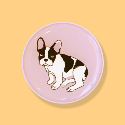프렌치불독 강아지 에폭시 스마트톡 그립톡 거치대