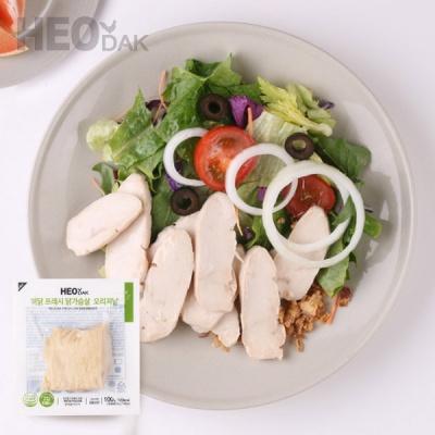 [허닭] 프레시 슬라이스 닭가슴살 오리지날 100g 1+1