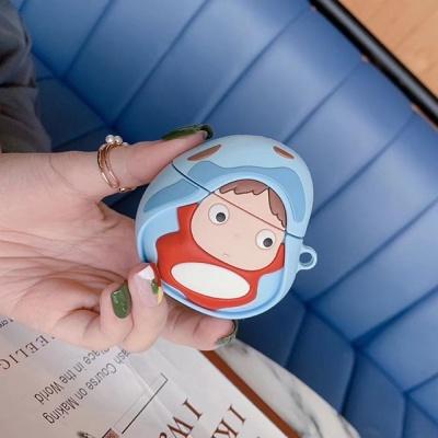 에어팟 1세대 2세대 포뇨 캐릭터 실리콘 케이스
